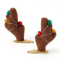Reindeer Antler Hair Clip Set