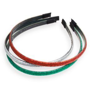 Glittery Headband Set