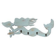 SONOMA Goods for Life™ 4-Hook Mermaid Wall Decor