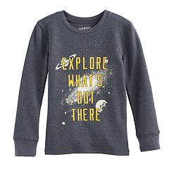 Boys 4-10 Jumping Beans® 'Explore What's Out There' Glow in the Dark Thermal Tee