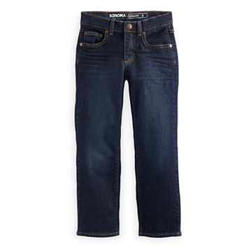 Boys 4-7x SONOMA Goods for Life™ Dark Wash Straight Jeans