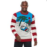 Big & Tall Beach Ugly Christmas Sweater