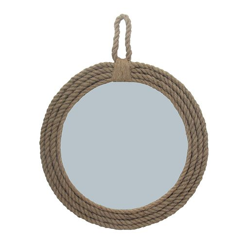 SONOMA Goods for Life™ Coastal Rope Round Mirror Wall Decor
