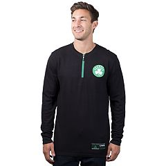 Men's Boston Celtics 1/4-Zip Thermal Tee