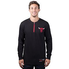 Men's Chicago Bulls 1/4-Zip Thermal Tee