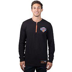 Men's New York Knicks 1/4-Zip Thermal Tee