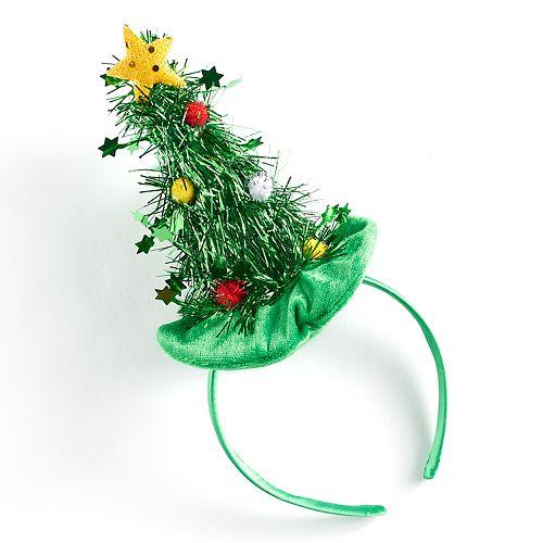Kohls Christmas Trees.Christmas Tree Headband