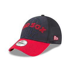 Youth New Era Boston Red Sox 9FORTY Stitcher Adjustable Cap