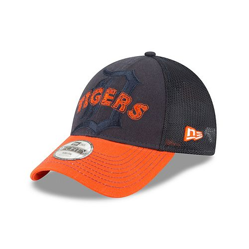 Youth New Era Detroit Tigers 9FORTY Stitcher Adjustable Cap