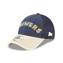 Youth New Era Milwaukee Brewers 9FORTY Stitcher Adjustable Cap