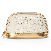 LC Lauren Conrad Faux Leather Cosmetic Bag
