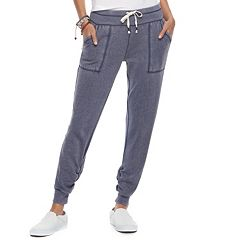 Juniors' SO® Lounge Life Ruched Slim Jogger Sweatpants
