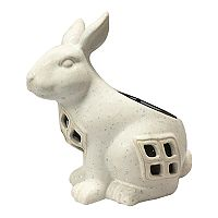 SONOMA Goods for Life™ Solar Powered Bunny Lantern Outdoor Table Decor