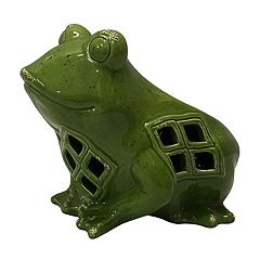SONOMA Goods for Life™ Solar Powered Frog Lantern Outdoor Table Decor
