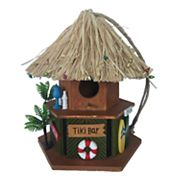 Celebrate Together Tiki Bar Birdhouse