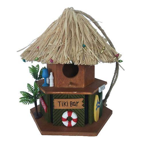 Celebrate Together Tiki Bar Birdhouse
