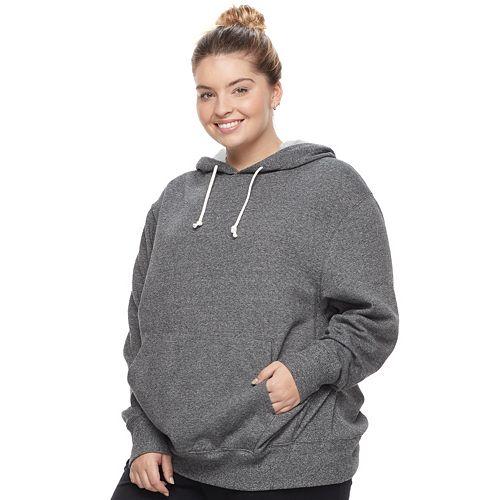 Juniors' Plus Size SO® Oversized Fleece Hoodie