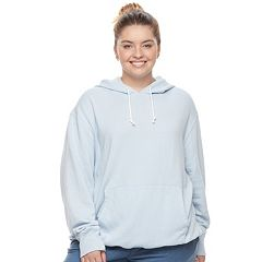 Juniors' Plus Size SO® Oversized Fleece Hoodie