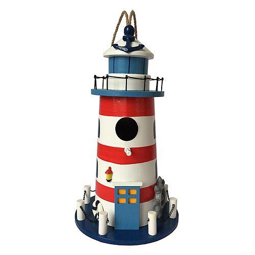 Celebrate Together Nautical Lighthouse Birdhouse