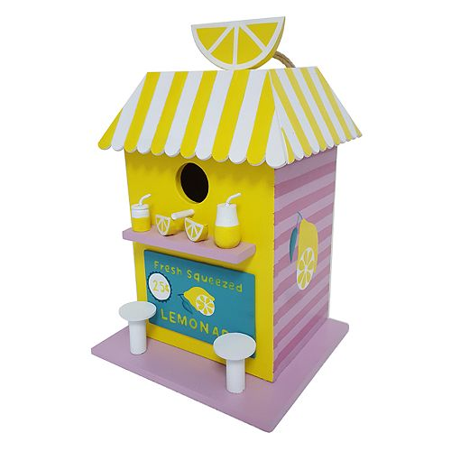 Celebrate Together Lemonade Stand Birdhouse