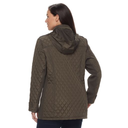 Plus Size MO-KA Quilted Jacket