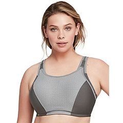 Glamorise Bra: Elite Performance Adjustable Support Underwire High-Impact Sports Bra 9167