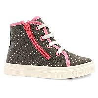 Oomphies Skyelar Toddler Girls' High Top Sneakers
