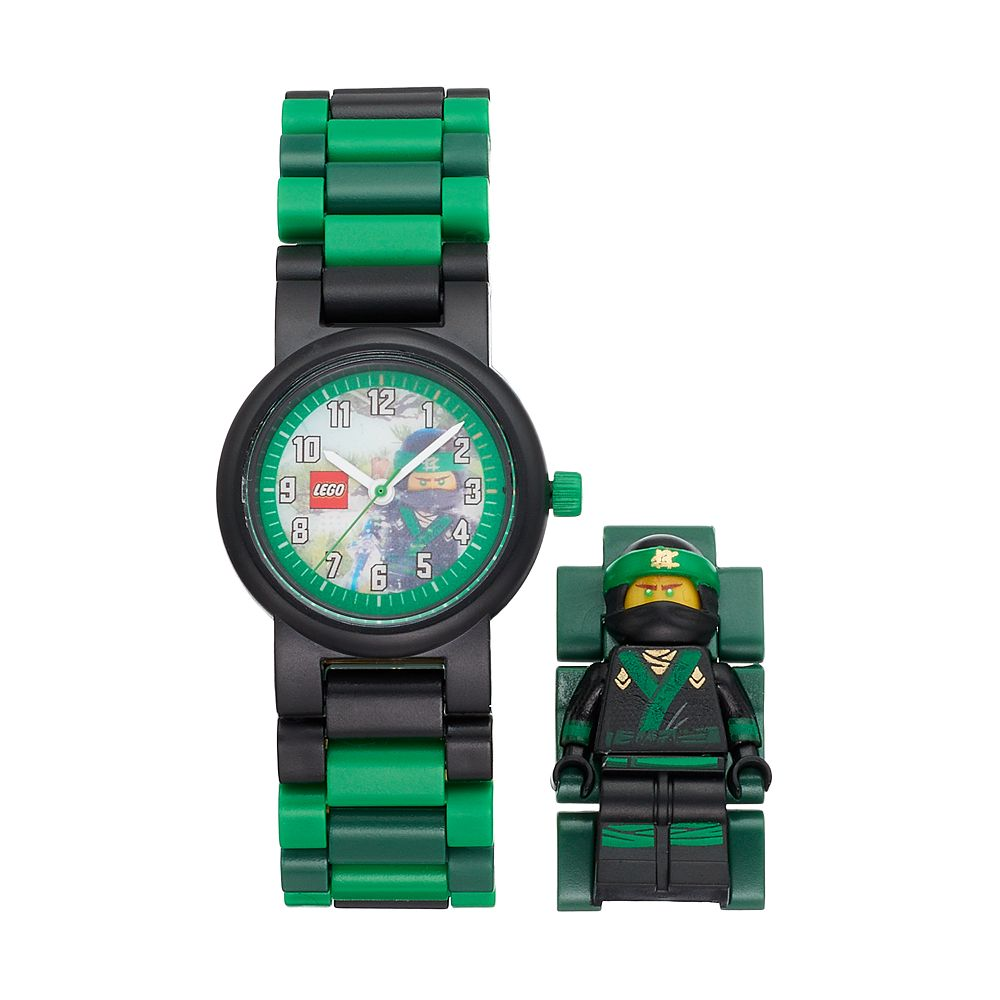 LEGO NINJAGO Kids\' Lloyd Minifigure Interchangeable Watch Set