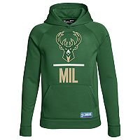 Boys 8-20 Under Armour Milwaukee Bucks Lockup Hoodie
