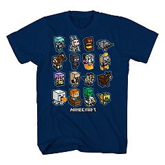 Boys 8-20 Mine Craft Gang Tee