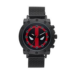 Marvel Deadpool Men's Mesh Watch