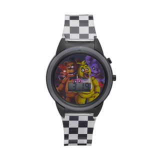 Five Nights At Freddy's Kids' Digital Light-Up Watch