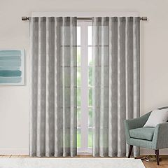 Urban Habitat 1-Panel Callie Sheer Window Curtain