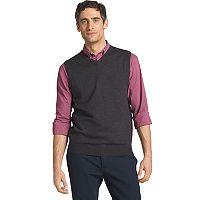 Men's IZOD Solid Sweater Vest