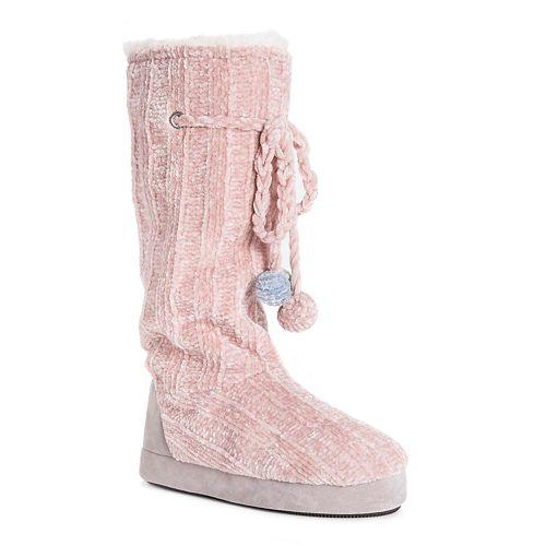Women's MUK LUKS Grace Boot Slippers