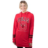 Women's Chicago Bulls Oversized Varsity Hoodie