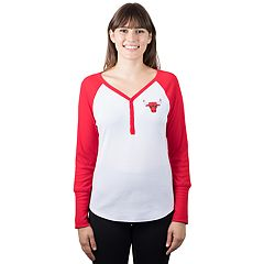 Women's Chicago Bulls Raglan Tee