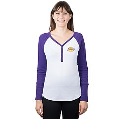 Women's Los Angeles Lakers Raglan Tee