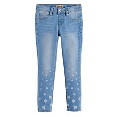 Girls 4-7 SONOMA Goods for Life™ Printed Skinny Jeggings