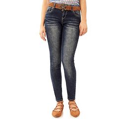 Juniors' Wallflower Legendary Skinny Jeans