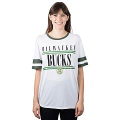 Women's Milwaukee Bucks Ringer Tee