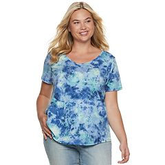 79fca2d612fc8 Plus Size SONOMA Goods for Life™ Essential V-Neck Tee