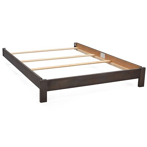 Delta Children Full Size Platform Bed Conversion Kit - Rustic Gray 700850