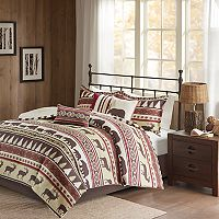 Madison Park Butte Herringbone Comforter Set