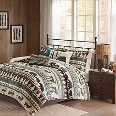 Madison Park Butte Herringbone Comforter Set