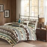 Madison Park Butte Herringbone Duvet Cover Set