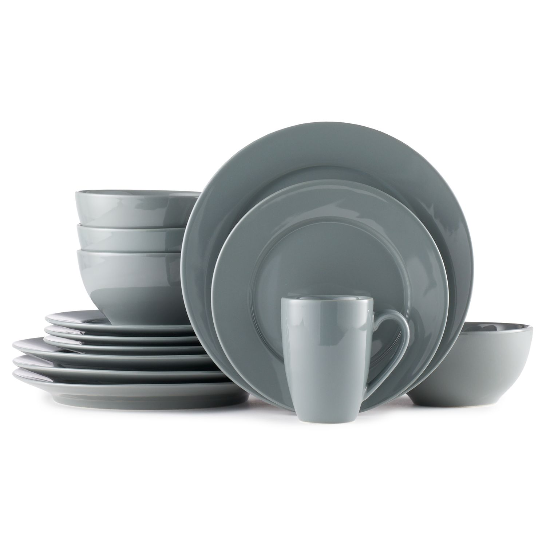 Dinnerware Set  sc 1 st  Kohlu0027s & Grey Dinnerware Sets Dinnerware u0026 Serveware Kitchen u0026 Dining | Kohlu0027s