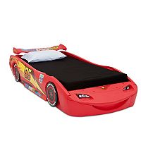 Disney / Pixar Lightning McQueen Twin Bed with Lights by Delta Children