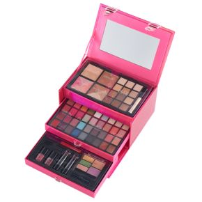 The Color Institute 66-pc. Pink Case Defining Beauty Cosmetics Set