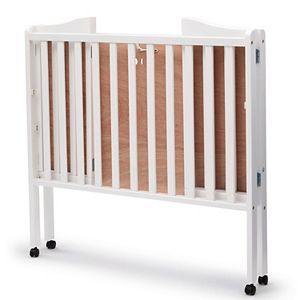 Delta Children Portable Folding Crib With Mattress